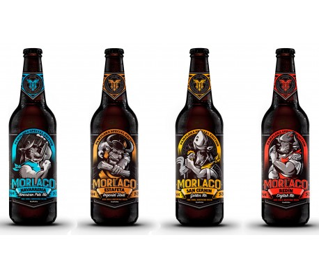 Pack selección cervezas Morlaco Beer