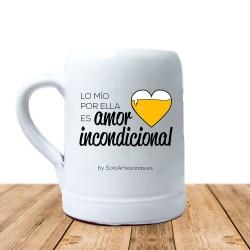 "Jarra ""Amor incondicional"""
