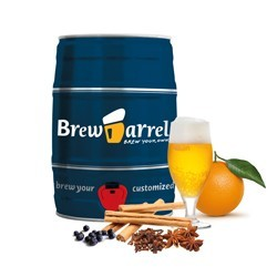Brew Barrel Christmas Beer