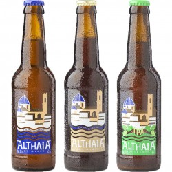 Pack degustación Cervezas Althaia Artesana