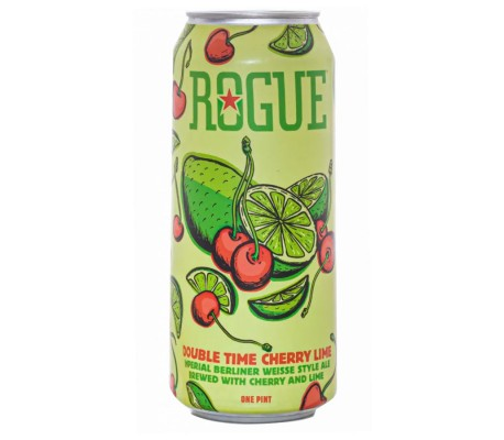 Rogue Double Time Cherry Lime (lata 50cl.)