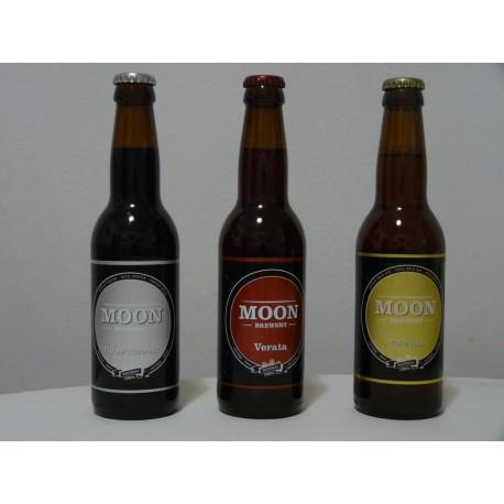 Pack degustación Cervesa Artesana Moon